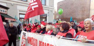 tavolo pensioni manifestazione unitaria
