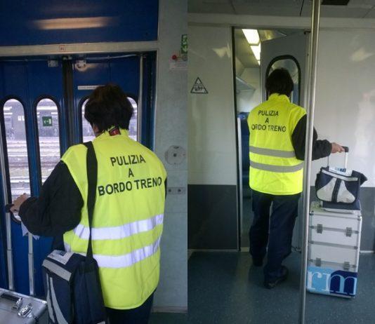 pulizie treno