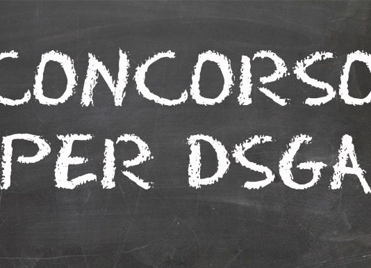 scritta concorso DSGA