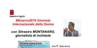locandina sanremo 8 marzo 2019