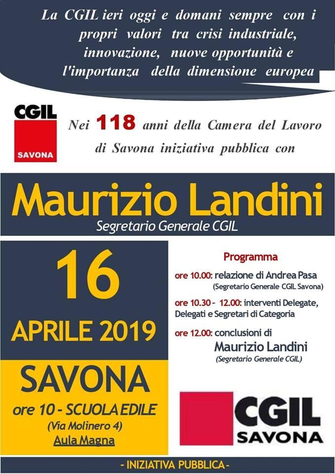 Programma evento Savona