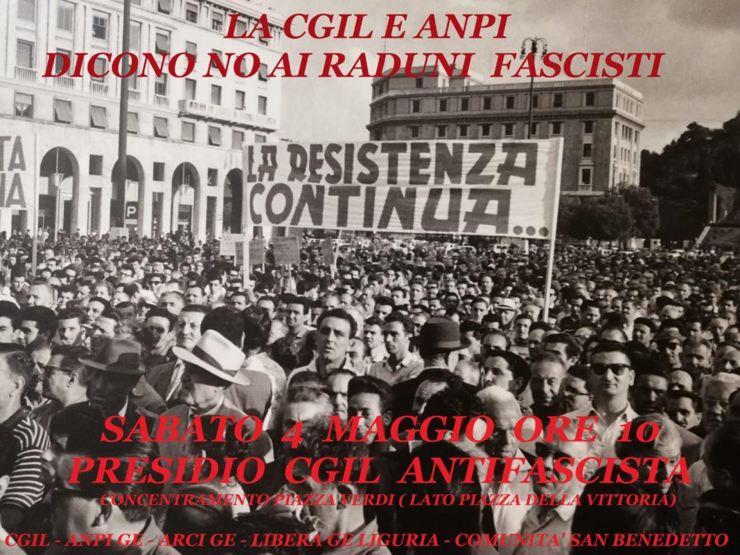 volantino manifesto 4 maggio