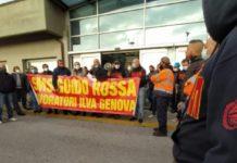 Mittal mentre sta per ricevere un miliardo dal Governo organizza una oscura e proditoria provocazione contro i lavoratori di Genova licenziandone tre