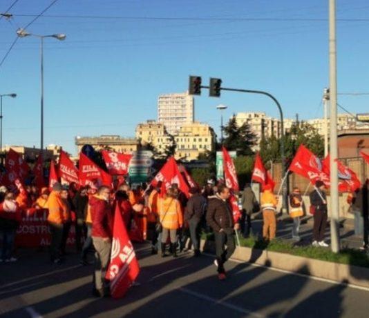 lavoratori dell'autostrada