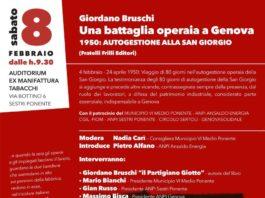 Giordano Bruschi - Una battaglia operaia a Genova