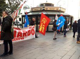 Oggi a Genova presidio lavoratori Leonardo