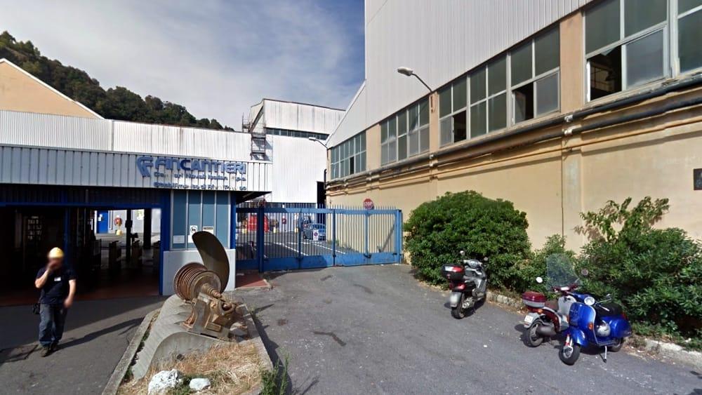 Lunedì 20 aprile 8 ore di sciopero alla Fincantieri di Riva Trigoso
