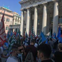 Manifestazioni Ripartire dal lavoro