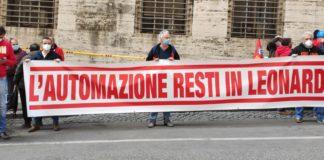 Manganaro (Fiom Cgil Genova): oggi a Roma i presidi per le aziende in crisi. Presente una delegazione sindacale di Leonardo Genova